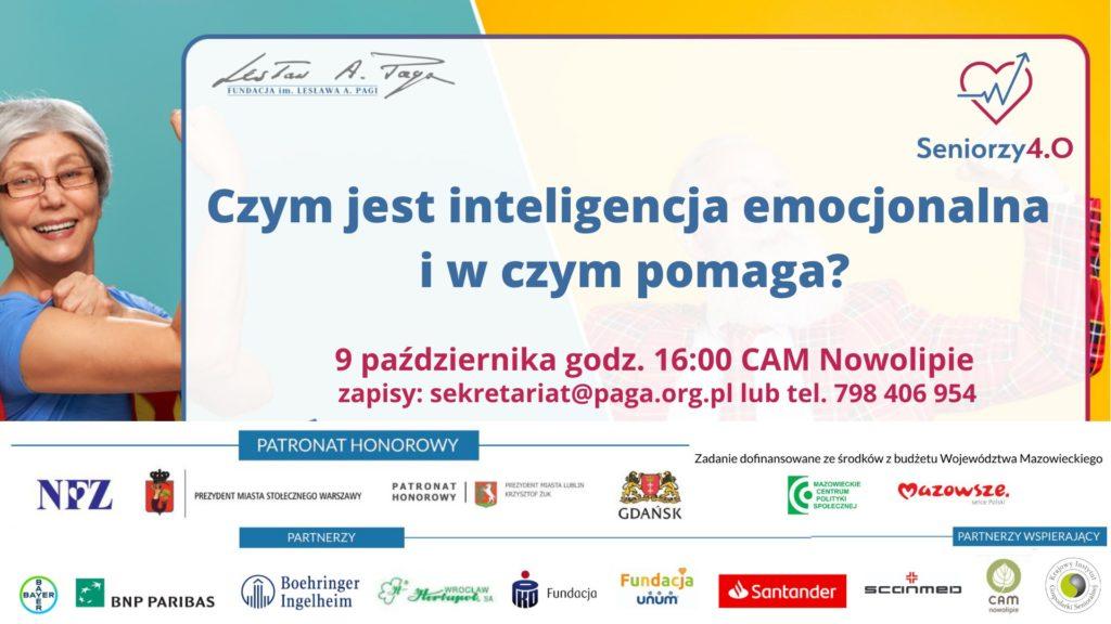 grafika z napisem: Czym jest inteligencja emocjonalna i w czym pomaga?