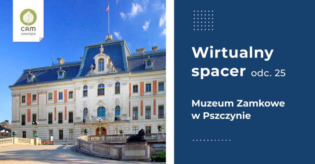 Fasada Pałacu w Pszczynie.