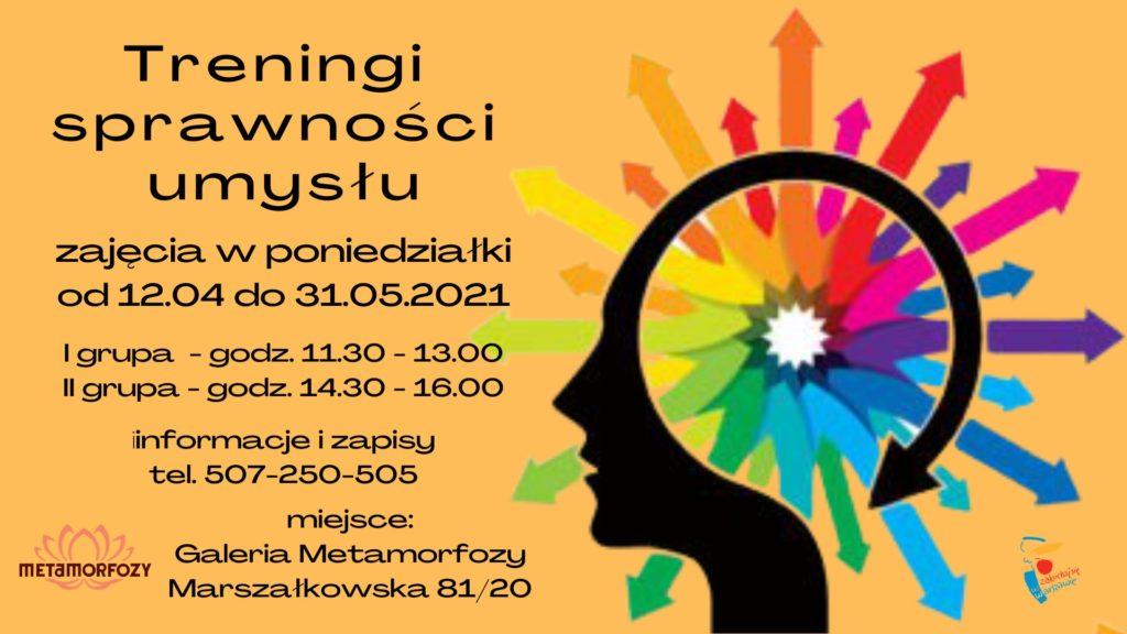 treningi umysłu dla osób starszych w Fundacji Metamorfozy